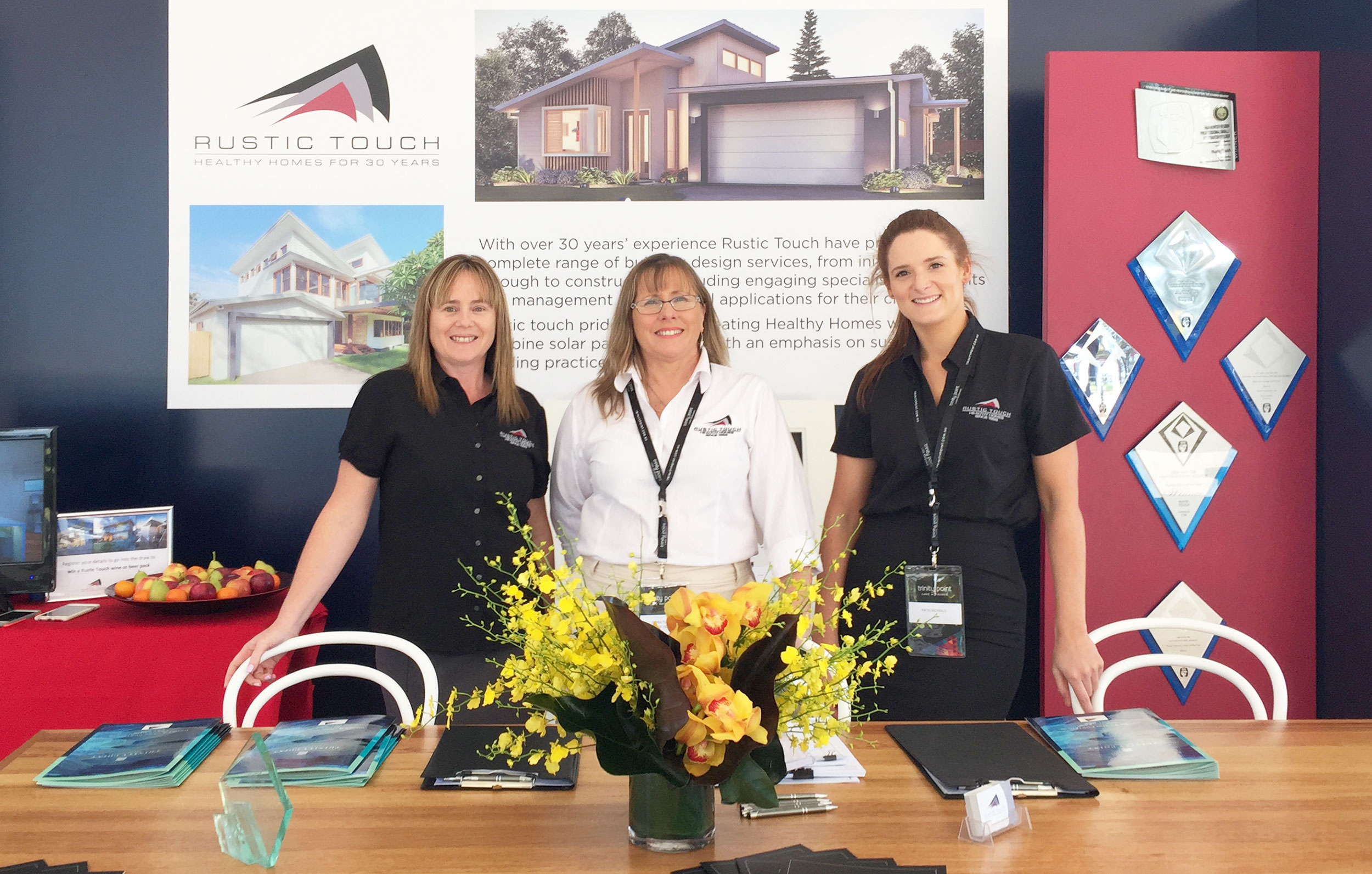 The opening of Trinity Point with Rustic Touch