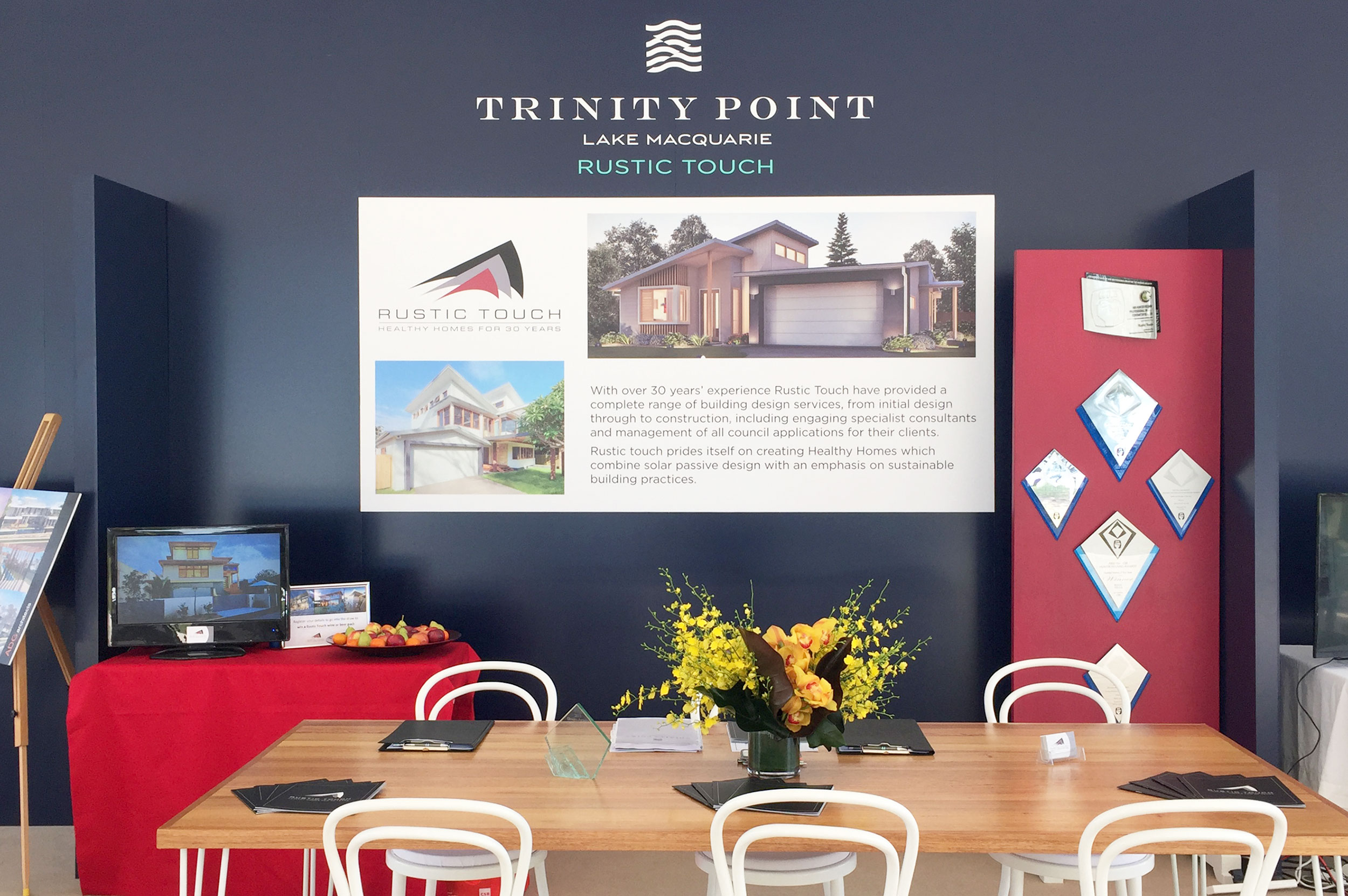 Rustic Touch at the opening of Trinity Point